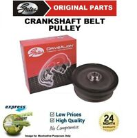 GATES CRANKSHAFT BELT TVD PULLEY for FORD CMAX FOCUS MONDEO 2003->on