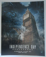 ROLAND EMMERICH signed 11x14 photo INDEPENDENCE DAY POSTER