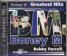 BONEY M 2 CD Feat.by BOBBY FARRELL Italy GREATEST HITS nuovo sigillato SEALED