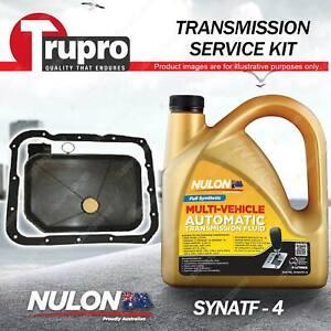 SYNATF Transmission Oil + Filter Kit for Mitsubishi Lancer Mirage CE Nimbus UG