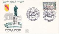 Enveloppe 1er jour FDC n°563A - 1966 - La Victoire de Verdun - Expo Philatélique