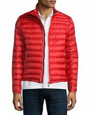 Moncler Men's Daniel Packable Down Jacket Red Size 4 XL