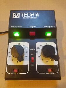 MRC TECH II Dual Power 2800 HO & N Scale Train Control Transformer NOS