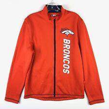 NFL Team Apparel TX3 Warm Denver Broncos Mens Jacket Orange - Small S