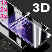 3x 3D Soft Screen Protector Film for Samsung Galaxy S9 S8 Plus Note 8 S7 edge A+