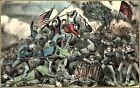 Currier & Ives | The Battle of Chattanooga, Tenn.  Art Print