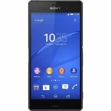 Sony Black Android Bar Mobile Phones