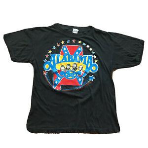 Vintage 70s Alabama Band T-Shirt Men's Medium Single Stitch Rock Country Music