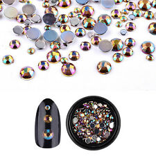 Bling Glitter 3D Nail Art Decorations Alloy Rhinestone Charm Cute Tips Stickers