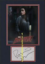 Rosario Dawson Clair Temple Daredevil Marvel Comics  Autograph UACC RD96