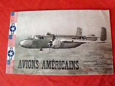 avions Américains fascicule 2 (photos, plans, caractéristiques) (1945)
