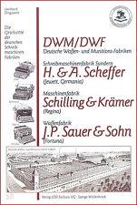 L. Dingwerth: Geschichte Schreibmaschinen-Fabriken: DWF Germania Regina Fortuna