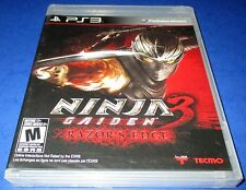 Ninja Gaiden 3: Razor's Edge Sony PlayStation 3 *Factory Sealed! *Free Shipping!
