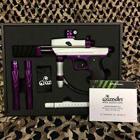 NEW Azodin KP3 Kaos Pump Tournament Paintball Gun Marker - White/Purple