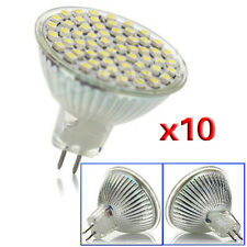 10 X MR16 GU5.3 220V Tag weiss 60 LED SMD 4W Energieeinsparung Spot-Licht K2Z2