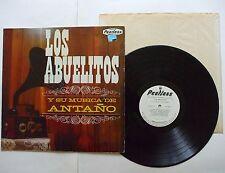 Los Abuelitos Y Su Antano PROMO LP (Peerless LD-703) Made in Mexico