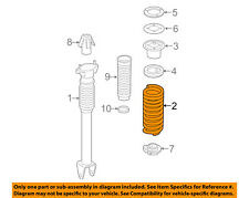 MERCEDES OEM 09-15 ML350 Rear Suspension-Coil Spring 1643240204