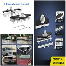 Universal Hood Led Work Light Bar Mounting Bracket Clamp Holder For Jeep Offroad