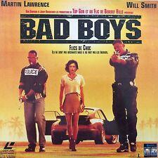 LASERDISC - BAD BOYS - WS VF PAL - Will Smith, Martin Lawrence, Lisa Boyle