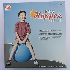 Jumbo Hopper 22 inch Exercise While Having Fun Blue Ride on Summer Toy