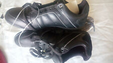 Diesel HURRICANE RN 93243 Black Leather Lace Up Sneakers Shoes