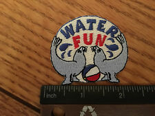 Girl Scout Patch - Water Fun- New - Qty 1 - V2