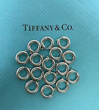 1 Tiffany & Co. Paloma Picasso Silver 925 10mm Spring Jump Ring Charm Holder