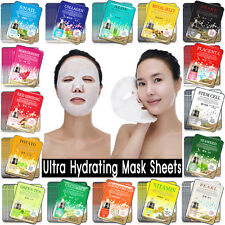 100 PCS Korean Essence Facial Mask Sheet, Moisture Face Mask Pack Skin Care Lots