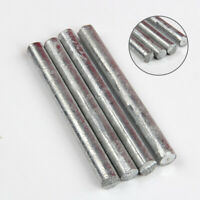 """High Purity Zn 99.95% Zinc Rods Solid Round Bar 0.4""""*4"""" Anode Electroplating"""