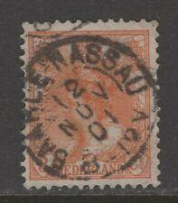 Kleinrond stempel Baarle Nassau op nvph 56