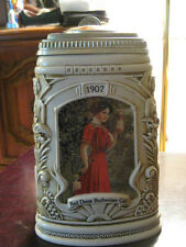"1997 A- B  MEMBERS ONLY  STEIN  ""THE BUDWEISER GIRLS HISTORICAL REFLECTIONS"""