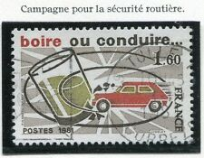 STAMP / TIMBRE FRANCE OBLITERE N° 2159 SECURITE ROUTIERE