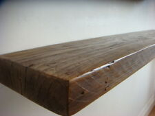 Reclaimed Chunky Floating Shelf Shelves Wooden. Walnut 4 Feet