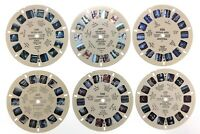Lot of 6 Miscellaneous World Countries 1950s Sawyers Inc Reels View Master S446