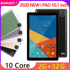 4G-LTE P20 10.1in Android 9.1 2020 Tablet PC 2+32G GSM Unlocked Google Phablet