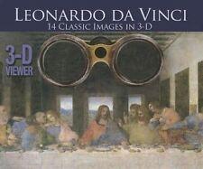3D Viewer: Leonardo Da Vinci,Arcturus Publishing,New Book mon0000088472