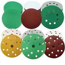 Craft-Equip 50-75-125-150-225 mm Schleifscheiben Klett Exzenter Schleifpapier