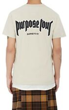Brand New Justin Bieber Purpose Tour XO Barneys New York NY Sand T-shirt Small S