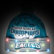 PHILADELPHIA EAGLES Super Bowl LII Champions Lie-Up Beanie FOREVER COLLECTIBLES