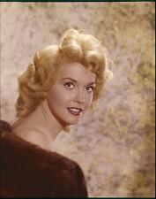 DONNA DOUGLAS Beautiful Vintage Glamour Portrait Original Photo TRANSPARENCY