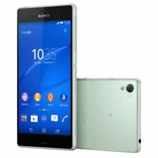 Sony Xperia Z3 D6653 4G Smartphone, 16GB, Green, Unlocked, 5.2 in,  20.7MP