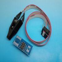 EEPROM / 93CXX / 25CXX / 24CXX in-circuit programming SOIC8 SOP8 Flash Clip
