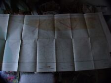 VINTAGE RARE 1942 SECTIONAL AERONAUTICAL CHART MAP DOUGLAS, AZ 4' X 2' !!!!!
