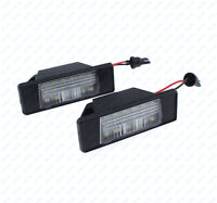 LED Number License Plate Light Lamp Truck Trailer Waterproof For NISSAN QASHQAI
