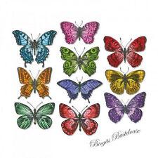 Sizzix Framelits Stanzschablone Flutter 662269 Schmetterlinge Tim Holtz