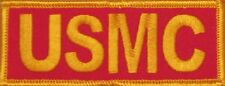 USMC UNITED STATES MARINE CORPS EMBROIDERED  MOTORCYCLE BIKER IRON ON PATCH L-10
