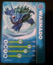 Warnado Skylanders Spyro's Adventures Stat Card Only!