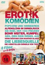 Erotikkomödien 8 Filme auf 8 DVDs Neu Erotikfilm