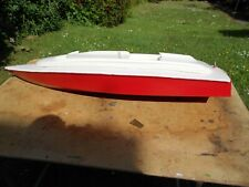 "Radio control Large Scale Model Speed Boat 46""  long with electric motor"