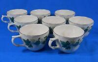 Casual Living Nikko Tableware Green Ivy Tea Cup Set of 8